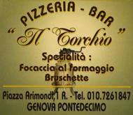 Il Torchio, bar - pizzeria a Pontedecimo